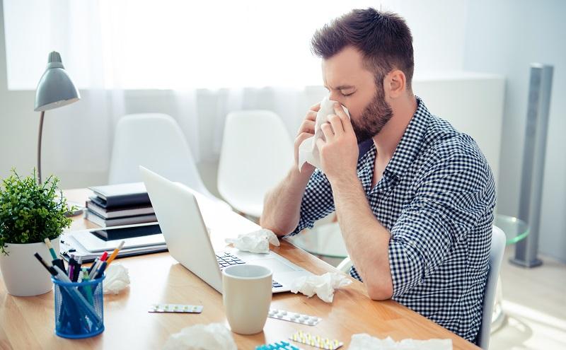 Bei Langzeittests stellten die Forscher fest, dass auch Faktoren wie Stress einen gewissen Einfluss auf das Allergische Asthma haben. (#02)