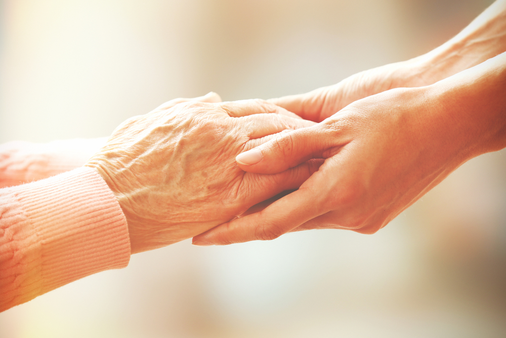 Besonders die Nähe und Fürsorge Angehöriger unterstützen den Patienten auf seinem Weg aus dem Apallischen Syndrom. (#2)