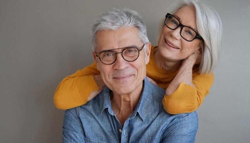 Ab einem Alter von 60 Jahren sind 92 Prozent der Bevölkerung auf eine Sehhilfe angewiesen.