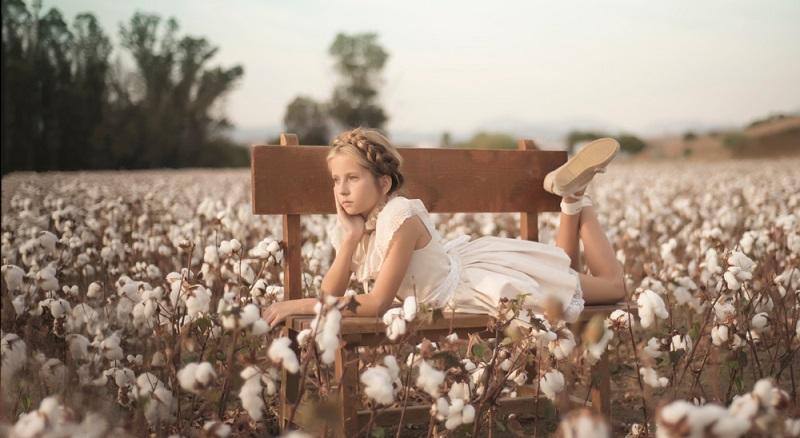 Baumwolle ist wesentlich geeigneter und schont die empfindliche Kinderhaut.